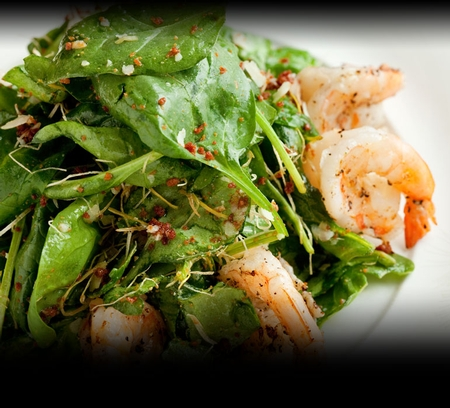 Nobu - Baby Spinach and Shrimp