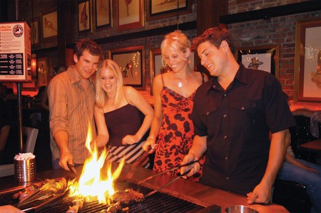 Gaslamp Strip Club - Grill-your-own