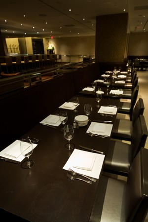 N9NE Steakhouse - Long table for large parties