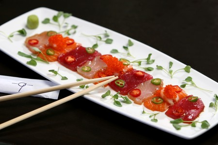 N9NE Steakhouse - Sashimi