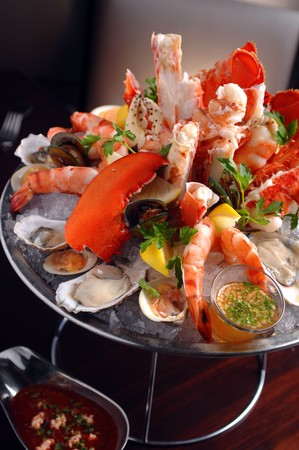 N9NE Steakhouse - Fresh Mixed Seafood