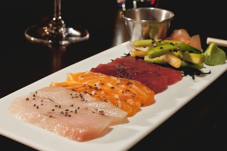 N9NE Steakhouse - Sashimi N9NE