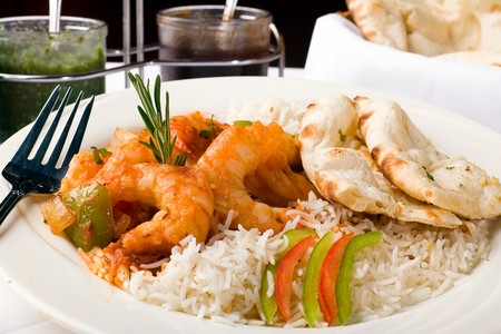 Royal India - Shrimp, Chicken and Rice