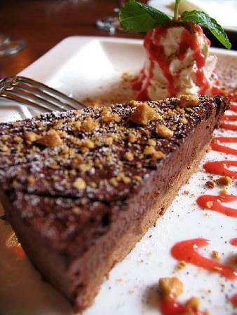 Spark Woodfire Grill - Studio City - Chocolate Hazelnut Brazilia Cake