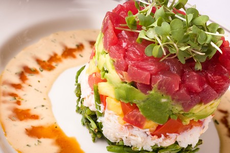 Truluck's - Tuna Tartare Tower
