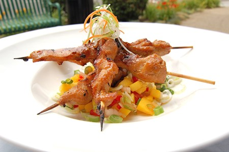 Del Mar Rendezvous - Satay Chicken Brochette