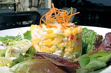 Del Mar Rendezvous - Crabmeat Mango Salad