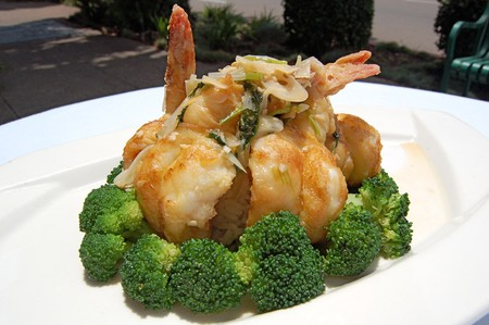 Del Mar Rendezvous - Wok Baked Garlic Prawns