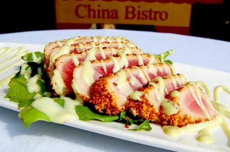 Del Mar Rendezvous - Sesame Crusted Seared Ahi