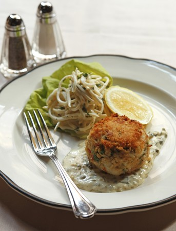 Butcher and Singer - Crab Cake
