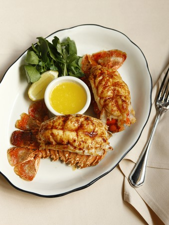 Butcher and Singer - Twin Australian Lobster Tails