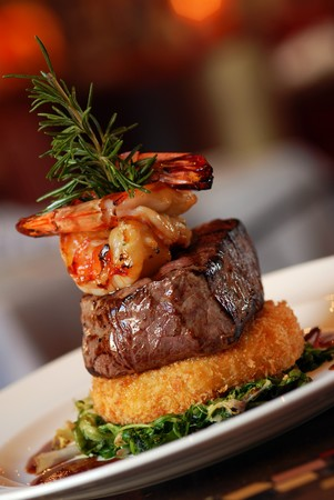 The Prado at Balboa Park - Steak, Shrimp
