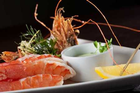 Firefly Restaurant and Bar - Chilled Prawns