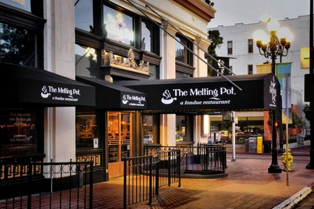 The Melting Pot - Gaslamp - Entrance