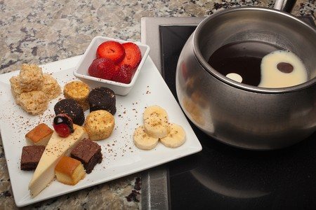 The Melting Pot - Gaslamp - Dessert Fondue