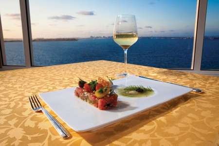 Mistral - dish with view
