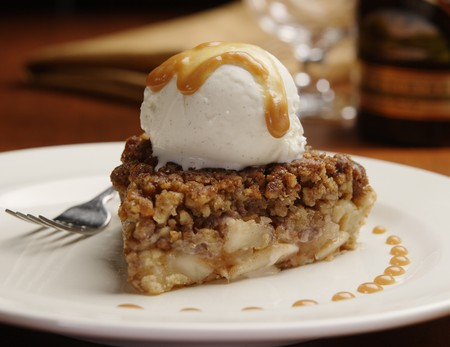 McCormick & Schmick's - Upside Down Apple Pie