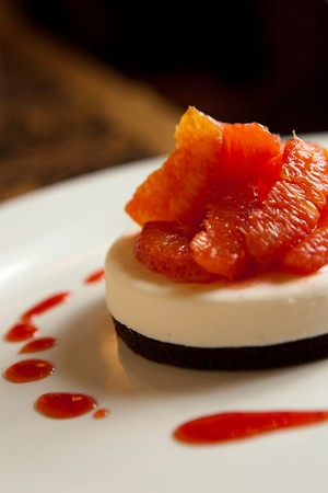 CARNEVINO - Blood orange dessert