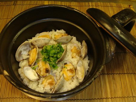 Wa Dining Okan - Steamed Clams with White rice