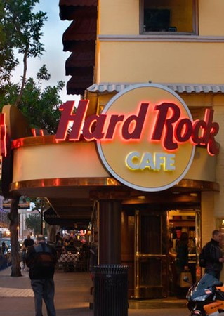 Hard Rock Cafe - Entrance