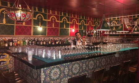 Casablanca Moroccan Restaurant - Bar at Casablanca