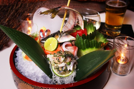 Full Moon Sushi & Kitchen Bar - Exotic Sashimi Platter