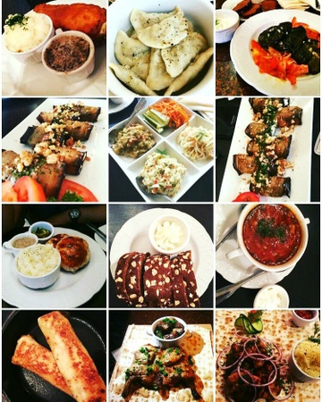 Pushkin Russian Restaurant - Foods