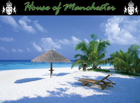 House of Manchester Caribbean Grill - background