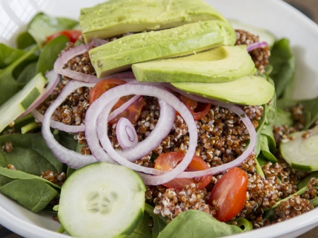 The Oak Room Kitchen & Bar - Red Quinoa & Avocado Salad