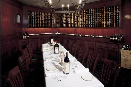 Donovan's of La Jolla - Donovan's wine cellar and private room