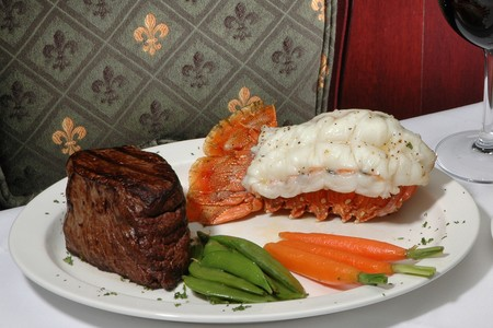 Donovan's of La Jolla - Lobster Tail & Streak