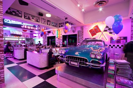 Corvette Diner - main area