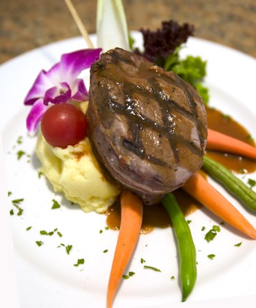 Blue Wave Bar and Grill - Steak Filet