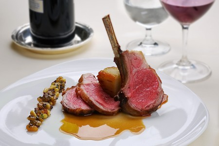 Le Bec Fin - Roasted Rack of Lamb