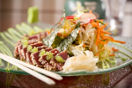 Buddakan - Salad with Tuna