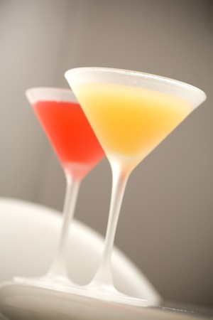 Pod - Yellow and Red Martinis