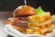 N9NE Steakhouse - Bacon Cheeseburger