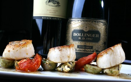 Pan Seared Maine Diver Scallops