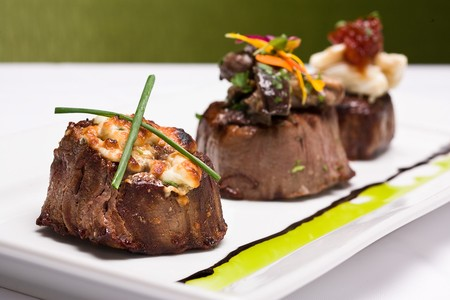 Island Prime's Filet Mignon Trio