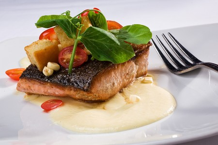 Pan Roasted Yukon Salmon