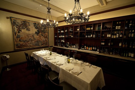 Il Mulino New York - Wine Wall
