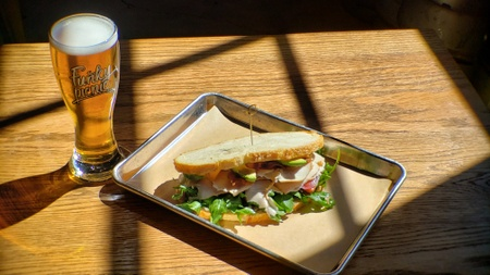 Funky Picnic Brewery & Café - TABC Sandwich