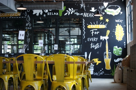 Funky Picnic Brewery & Café - Funky Picnic Mural