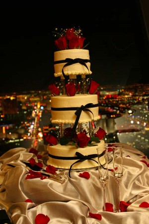 Top of the World - 3 Tiered Cake