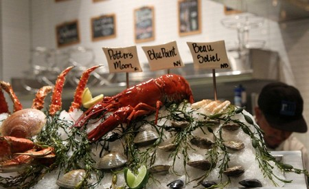 RM Seafood - Raw Bar Display