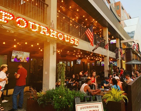 The Pourhouse Uptown - Main Patio