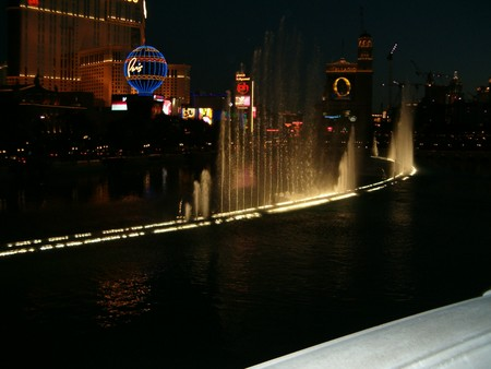 Olives - View of the Bellagio Fountains from the Terrace