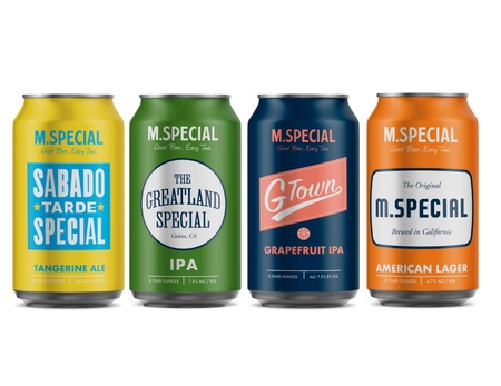 M. Special Brewing Company - Cans