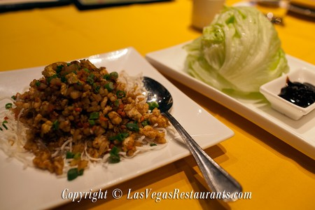 Dragon Noodle Co. & Sushi Bar - Lettuce Wraps
