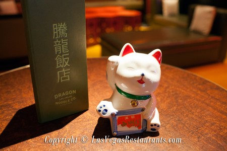 Dragon Noodle Co. & Sushi Bar - Cat Figurine
